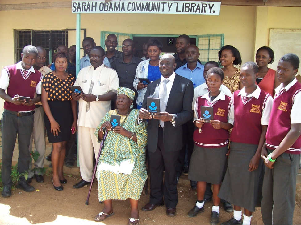 Siaya Community  Library has given birth to Sarah Obama Library